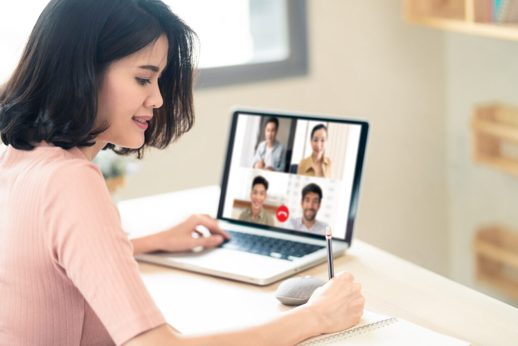 Set professional standards for virtual meetings