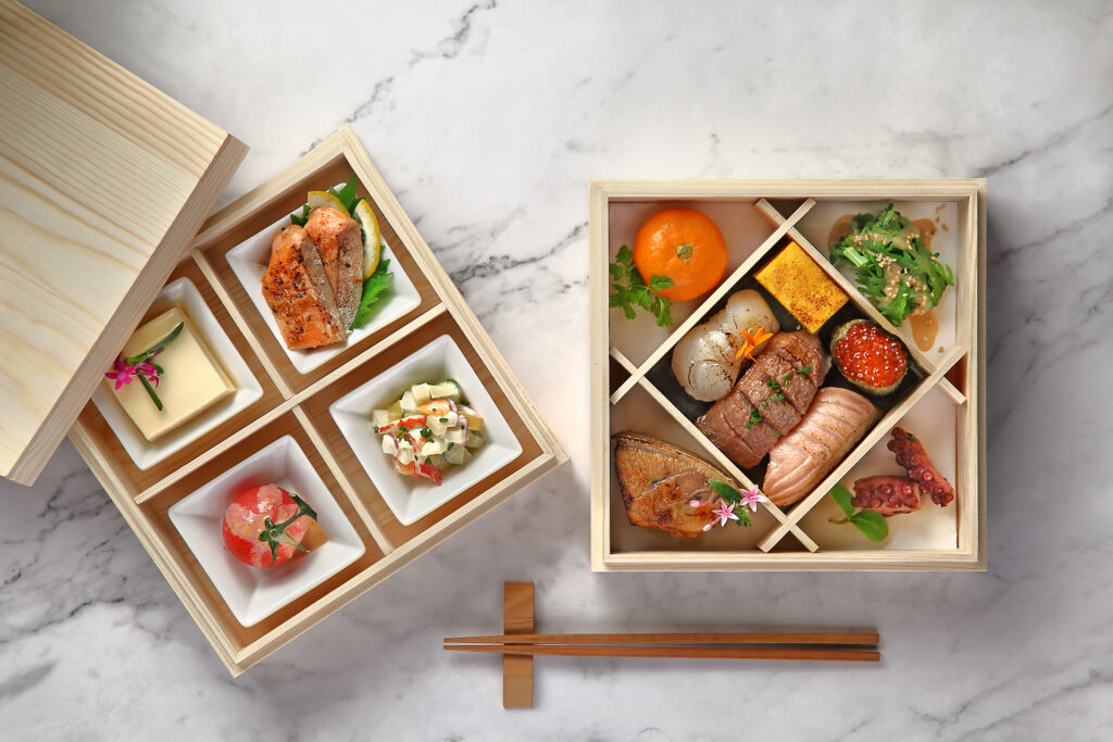 Omakase Otoro by Urbane Gourmand which consists of delicious gourmet dishes suited for corporate gatherings