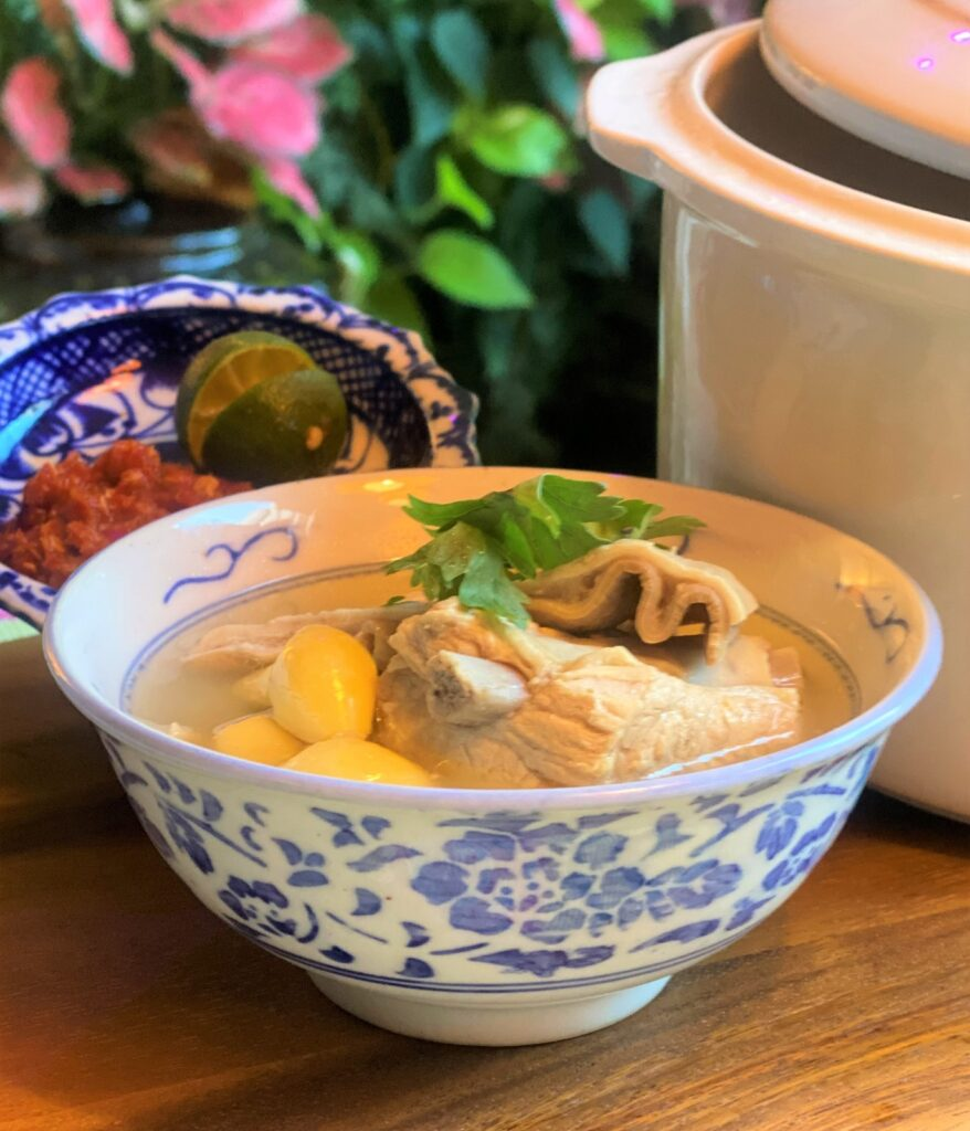 Peranakan Peppery Pig Stomach Soup