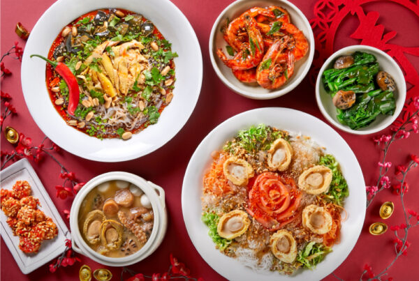 5-Course Chinese New Year Feastbox meals