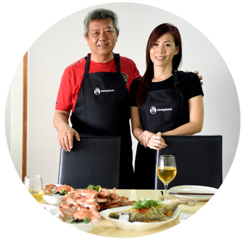Esseplore's Home Chefs Andrew & Sandy
