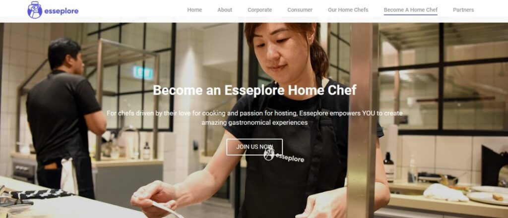 Become a home chef in Singapore with Esseplore